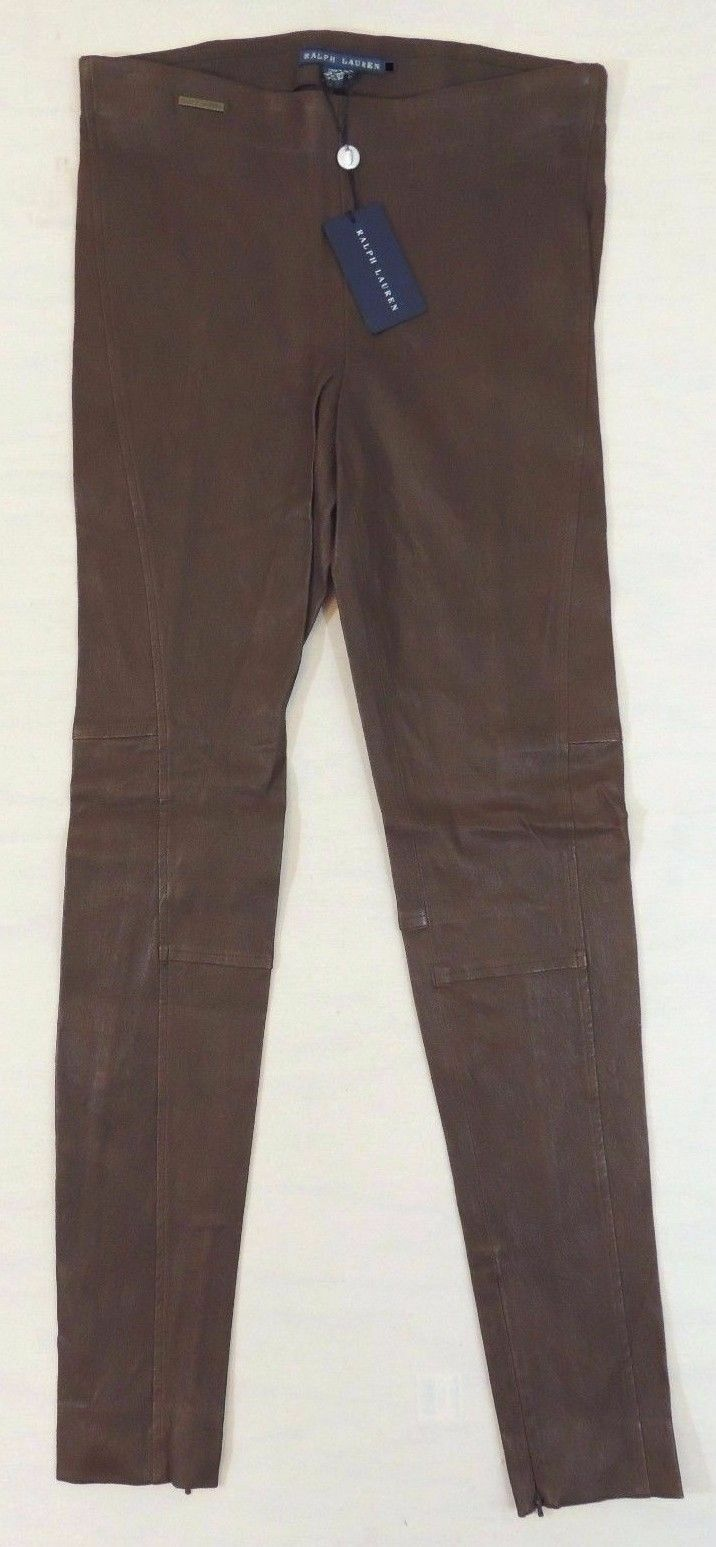 028aaa53f03976 298 Ralph Lauren Leather Jodhpur Equestrian Holiday Leggings Polo ...