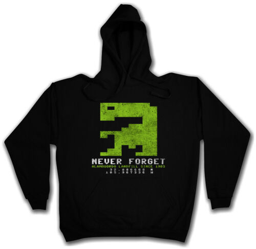 Never Forget et Hoodie Pull 1983 Game Alamogordo PC Flop Game Burial