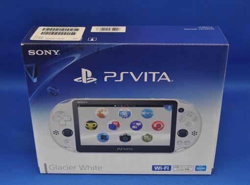 Sony PS Vita PCH-2000 ZA22 White Console Wi-Fi model Japan domestic version New