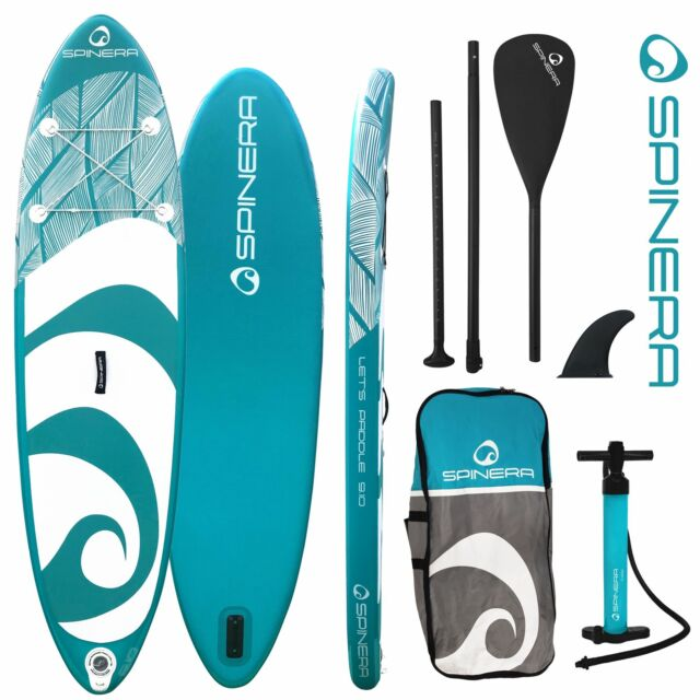 Spinera SUP Lets Paddle 9.10 - 300x76x15cm Stand Up Paddle Board Set aufblasbar