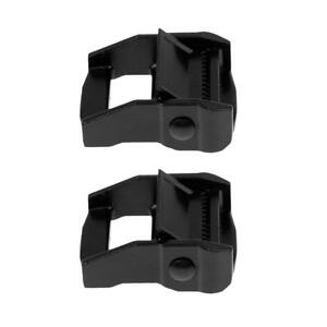 2x-38mm-Kayak-Canoe-Carrier-Cam-Buckle-Toggle-Clip-Strap-Webbing-Buckle-Blk