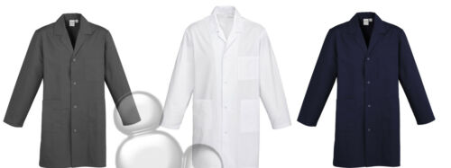 Adults Lab Coat Size XS S M L XL 2XL 3XL 5XL Health Doctors Science Jacket