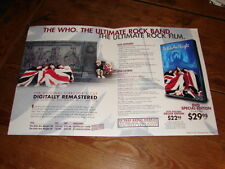THE WHO THE KIDS ARE ALRIGHT!!!!!!!!RARE USA!!PRESS/KIT