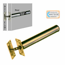 Concealed Internal Door Closer Chain Spring FIRE RATED Brass Tubular