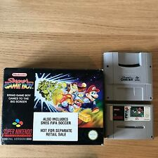 Nintendo Super Game Boy Accessory SNES | Boxed | FIFA Variant Rare Tested