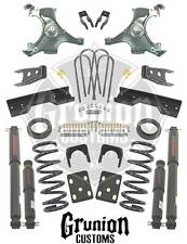 Chevy C1500 Silverado Std Cab 1992 - 1998 5/7 Lowering Kit w/ Shocks Belltech