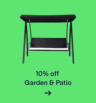 10% off Garden & Patio
