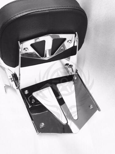 Chrome Backrest Sissy Bar with Luggage Rack For Honda VTX 1300C 2004-2009