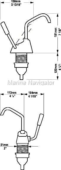 WHALE Flipper Pantry Mk Pumpe Mk Pantry IV f.Trinkwasser 0094c2