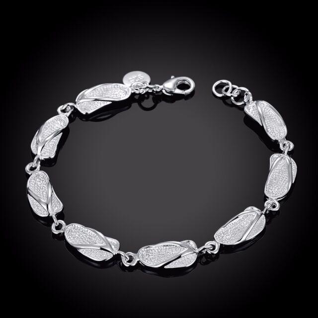 ASAMO Damen Armband 925 Sterling Silber plattiert A1155