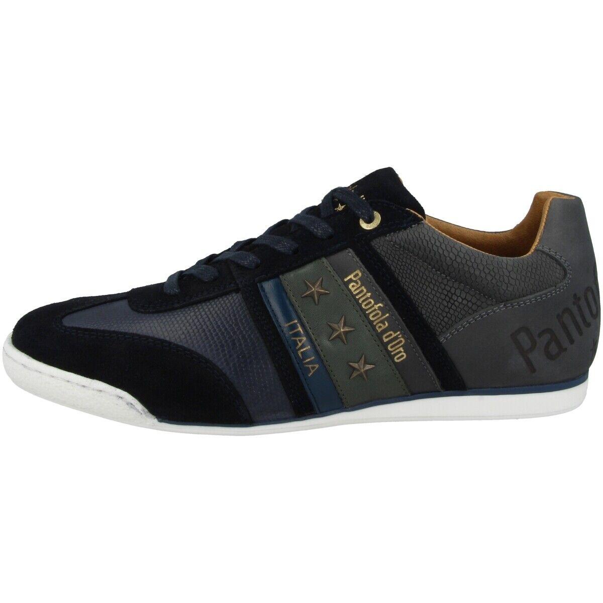 Pantofola d Gold Imola Crocco herren Low Ascoli Schuhe Turnschuhe Blaus 10193038.29Y