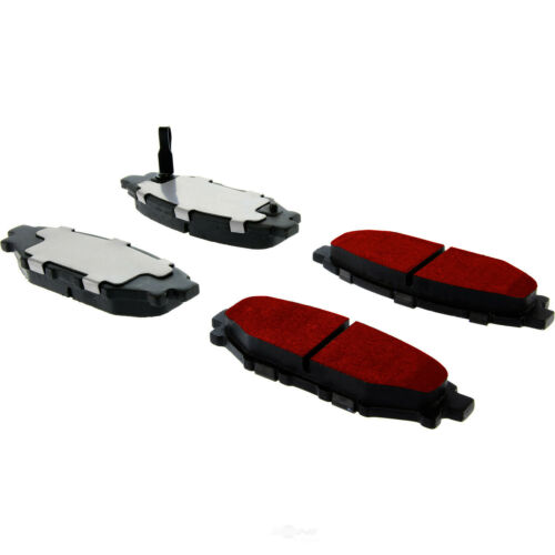 Disc Brake Pad Set-PQ PRO Brake Pads with Shims and Hardware Rear Centric