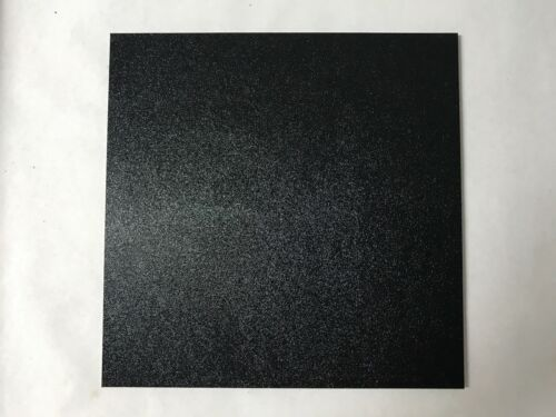 "ABS Black Plastic Sheet 1//4/"" x 24/"" x 48"" Textured 1 Side Vacuum Forming"