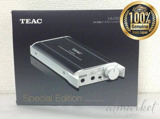 HA-P50SE-B TEAC DAC Equipped avec Portable Amplificateur de Casque Noir Japon