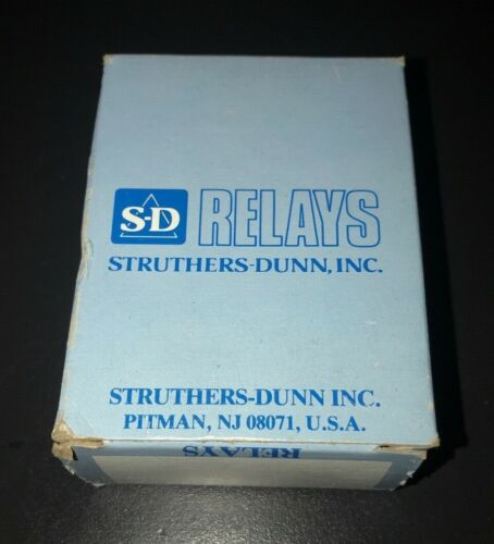 Struthers-Dunn Dunco Relay A 311 XBXP