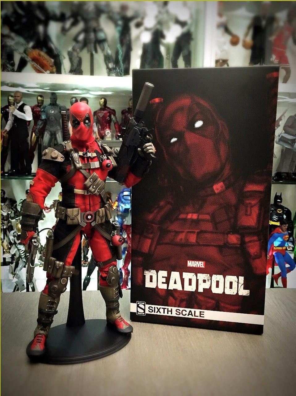 Sideshow 1 6 Marvel Comics Deadpool Figure  NOUVEAU  envoi rapide