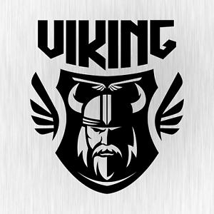 Viking-Wikinger-Valhalla-Odin-Thor-North-Schwarz-Vinyl-Decal-Sticker-Aufkleber
