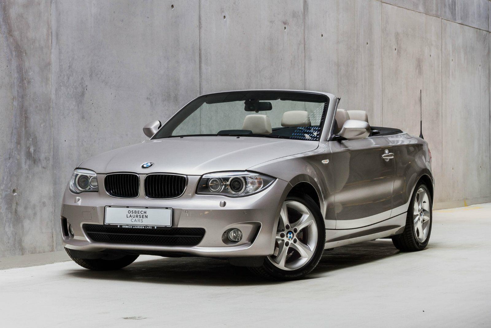 BMW 125i 3,0 Cabriolet aut. 2d