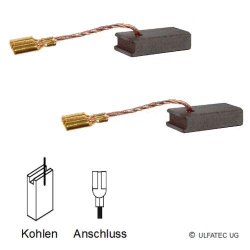 5x8x16,5mm WS 7-115 M AG 805-125 XE 2171 Kohlebürsten AEG AG 715-125