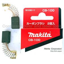 Makita LS0810 Mitre Saw CB100 Carbon Brushes Genuine Original Part 181030-1