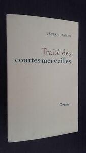 Vaclav Jamek Tratta Delle Corta Meraviglie Grasset 1989 N° Edizione 8023 Be