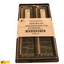16GB KIT 2X 8GB PC3-10600 1333 MHZ ECC REGISTERED APPLE Mac Pro MEMORY RAM