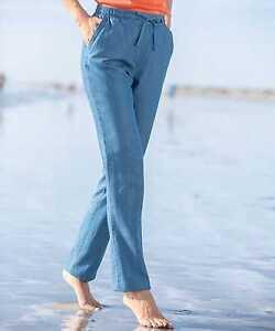 Damart-Trousers-Blue-Size-UK-16-DH077-NN-16