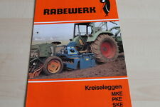 144147) Rabewerk Kreiselegge MKE PKE SKE Prospekt 11/1984