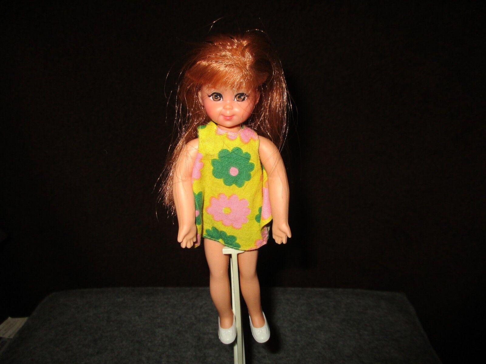Barbie Vintage-chris muñeca Mattel japón 1966 aprox. 16 cm grande