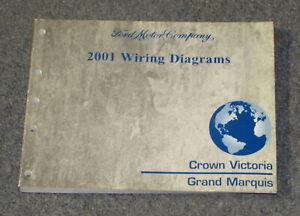 2001 Ford Crown Victoria Mercury Grand Marquis Wiring ...