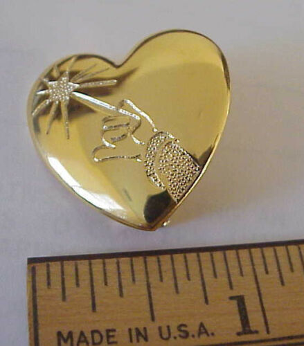 Disney • Fantasia • Mickey Mouse Arm /& Wand • Variety Club Heart Pin//Brooch