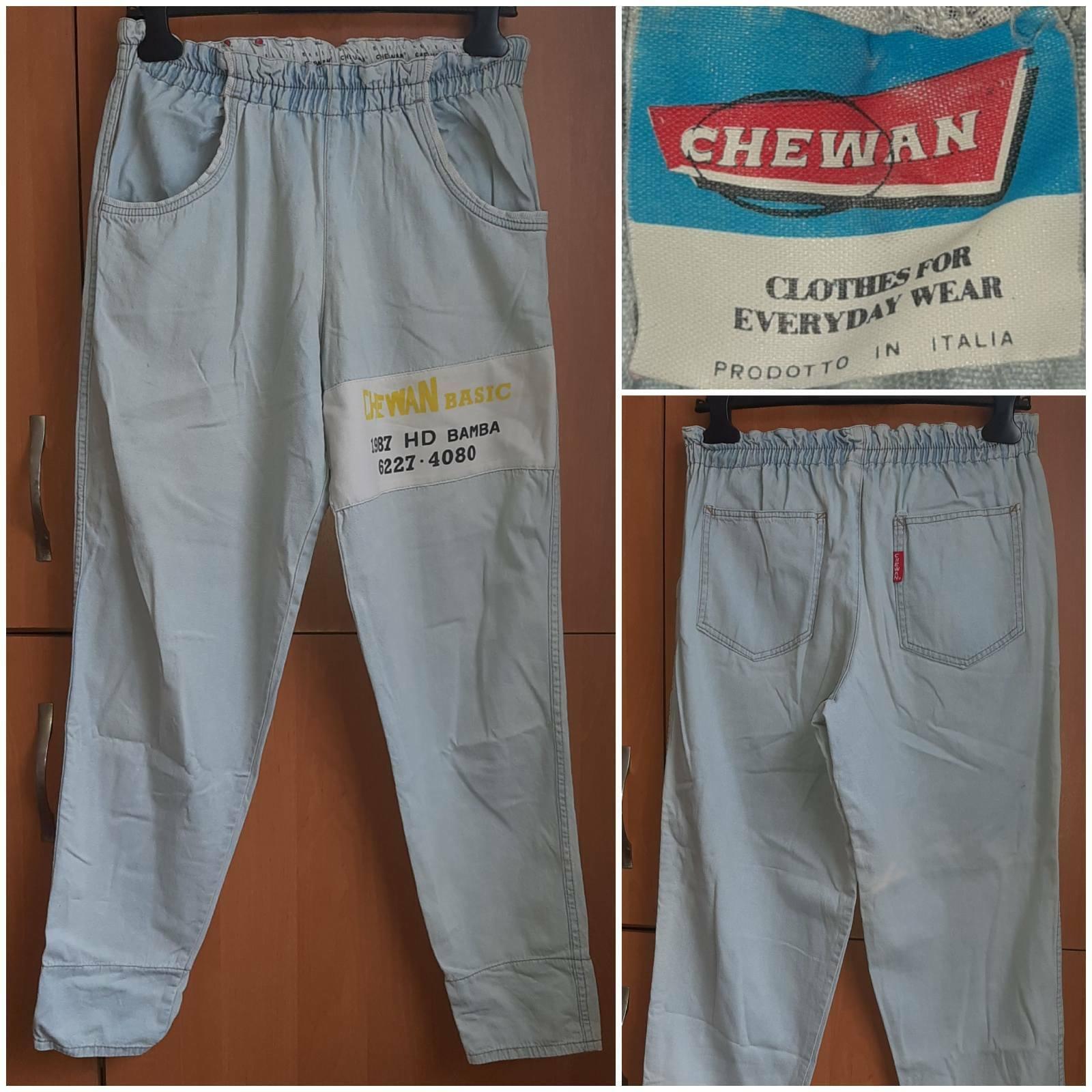 80s Chewan Basic Denim Pants with