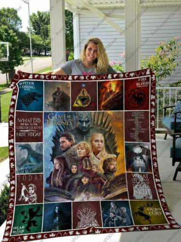 American fantasy drama television Quilt Fleece Blanket /'Game of Thrones/'