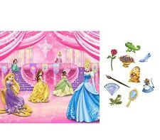Disney PRINCESS ~ (1) Backdrop and Props Kit ~ Birthday Party Supply Decorations