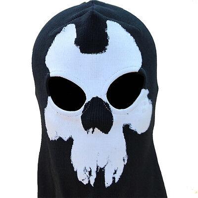 Skeleton Ghost Skull Balaclava Full Face Mask Hood Biker Call Of Duty Costume