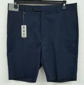 Daniel Cremieux Cassis Big Man Navy Flat Front Men/'s Shorts NWT $69.50 Choose Sz