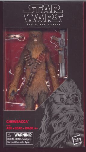 "Chewbacca TARBET Exclusive Star Wars 6/"" Black Series livraison gratuite"