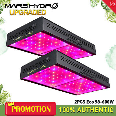 Mars Hydro 600W LED Grow Light Full Spectrum Veg Bloom for Indoor Plants