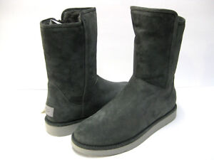 4dad99a760e Details about UGG COLLECTION ABREE SUEDE WOMEN SHORT BOOTS GRIG US 11 /UK  9.5 /EU 42