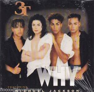 Michael-Jackson-3T-Why-FanClub-Limited-2-Track-Card-CD-Single-Sealed-No-Promo