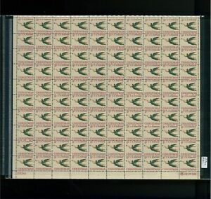 1965-United-States-Postage-Stamp-1276a-Plate-No-28241-Mint-Full-Sheet