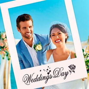 Marco-romantico-de-la-foto-de-la-boda-Apoyos-de-la-foto-Boda-de-la-foto-UHH