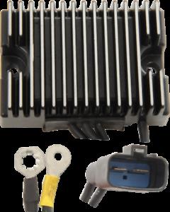 Drag Black Premium Voltage Regulator 32 Amp Harley 1991-2003 Dyna OEM 74518-99A