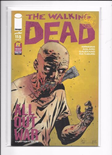 Walking Dead #115 NYCC Previews Exclusive Variant Cover Image Comics