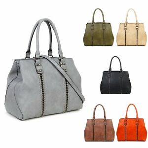 Image Is Loading Multi Compartment Collage Tote Bag Women Shoulder Handbags