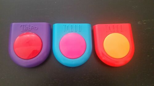 Taboo Buzzer -VGC, Works- Pick 1 Your Choice Board Game Parts Pieces Replacement