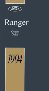 1994 ford ranger owners manual user guide reference operator book rh ebay com 1994 ford ranger xlt owners manual pdf 94 ford ranger owners manual pdf