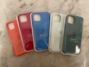 Custodia Cover Originale Apple iPhone 11 PRO Silicone Case colore a scelta