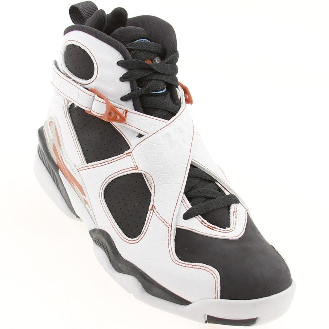 317258-104 New Men Nike Air Jordan Retro 8 VIII LS white