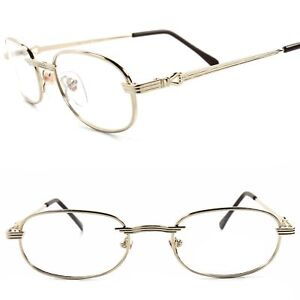 1f80659377 Genuine Vintage 80s 90s Rx-Able Prescription Mens Womens Gold Eye ...